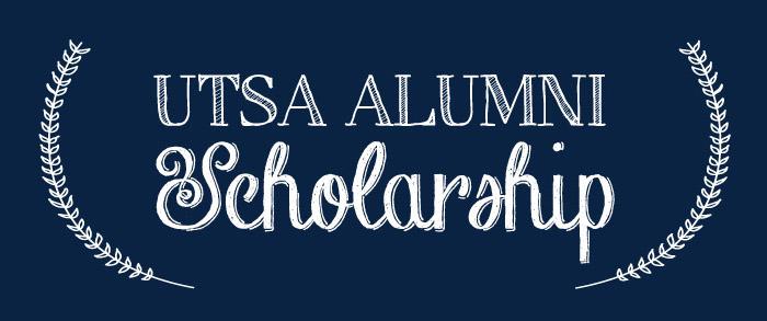 UTSA Alumni Scholarship