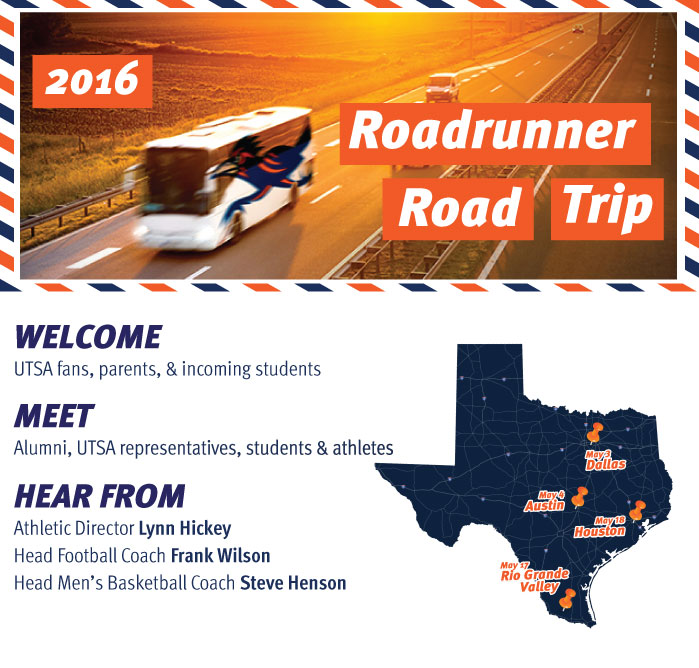 Roadrunners Road Trip Dates
