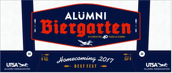 2017 Alumni Biergarten