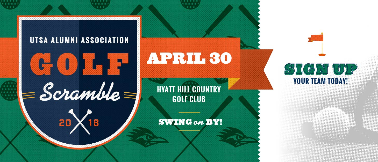 2018 UTSA Alumni Golf Scramble Header