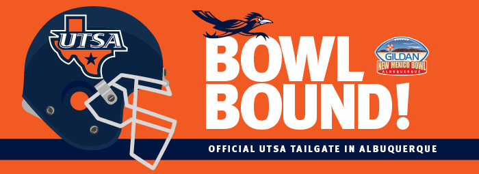 Official UTSA Tailgate - New Mexico Bowl