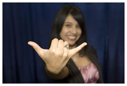 Girl with UTSA Ring